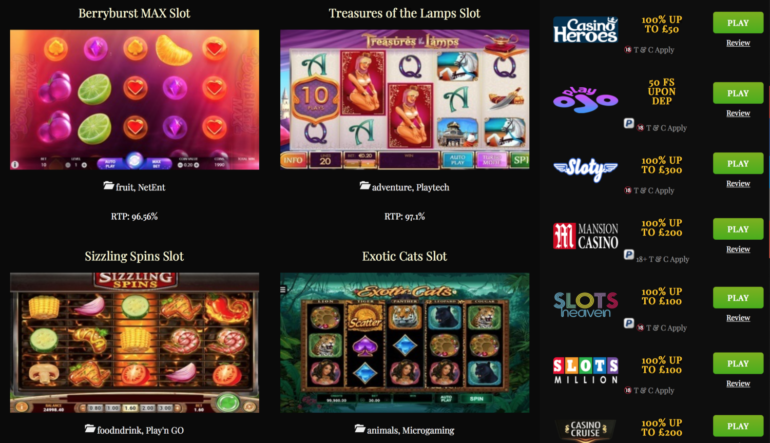 Howto Choose Best Slot Machines to a Mobile